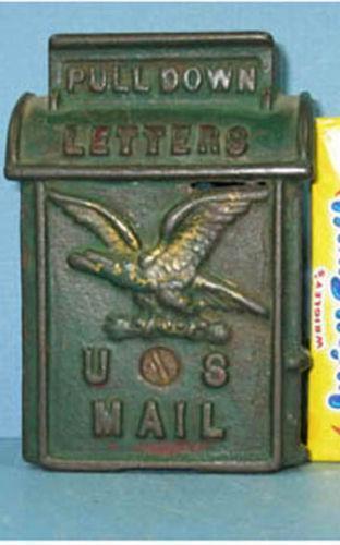 Cast Iron Us Mail Box Ebay