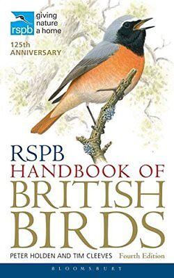 RSPB Handbook of British Birds by Peter Holden New Paperback Book