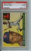 Ted Williams Topps Baseball Card