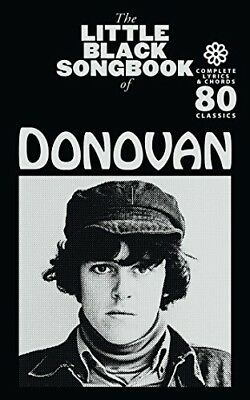 The Little Black Songbook Of Donovan  80 Classics Complete Lyrics Chords New