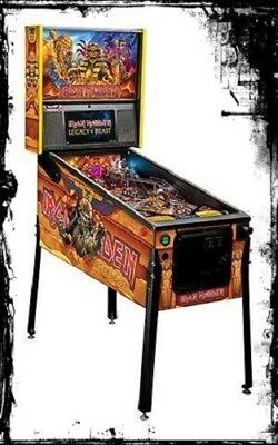 Stern Iron Maiden Premium Pinball Machine In Stock Free Shipping
