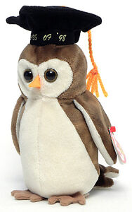 Wise the Class of '98 Owl Ty Beanie Baby stuffed animal Kitchener / Waterloo Kitchener Area image 1