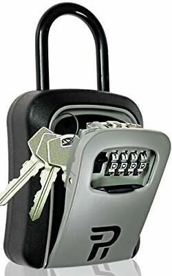 Key Lock Box For Outside - Rudy Run Portable Combination Lockbox For House Keys