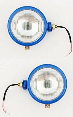 Pair Of Ford Tractor 12v Headlights Measures Apx 6 Across.