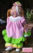 Smocked Dress 4T NWT