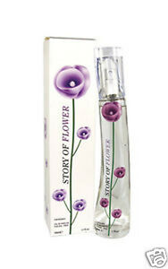 Story of Flower Purple Ladies Women Perfume Eua De Parfum 50ml Spray Fragrance