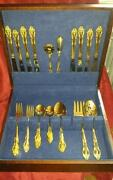 Gold Plated Silverware
