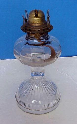 White Flame Oil Lamp Ebay