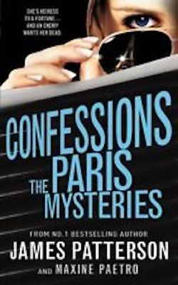 JAMES PATTERSON ___ CONFESSIONS THE PARIS MYSTERIES ___ BRAND NEW __ FREEPOST