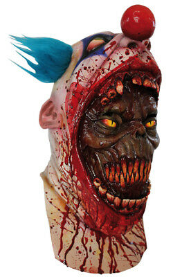 Coulrophobia Demon Clown Scary Halloween Horror Mask (Scary Demons)