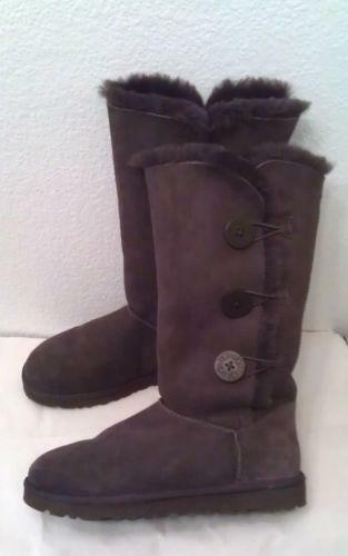 uggs bailey bow triplet womens