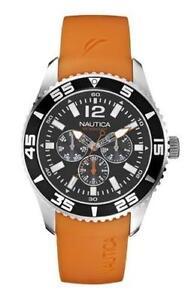 nautica watch men mens orange nautica watch