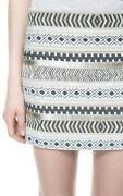 Zara Aztec Skirt