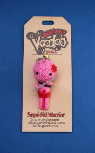 how to make little voodoo doll keychains