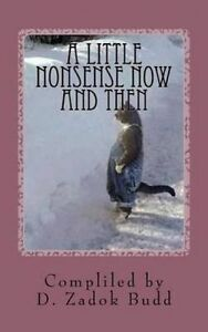 A Little Nonsense Now and Then by Budd, D. Zadok -Paperback