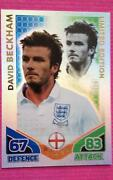 Match Attax David Beckham