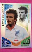 Match Attax David Beckham