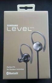 Samsung Active Level Headphones - Rain proof, bluetooth.Brand New, sealed box.