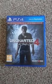 unchartered 4 a thiefs story ps4