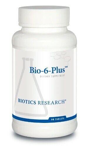 Bio-6-plus Biotics brand pancreas catalase super oxide dismutase 90 tab