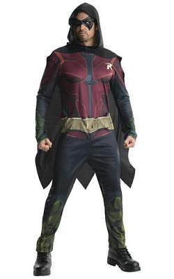 Rubies Robin Batman Fancy Dress Costume Halloween Cosplay Outfit Mens Male XL