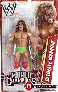ULTIMATE WARRIOR WWE MATTEL BASIC SERIES 29 ACTION FIGURE TOY (BRAND NEW)