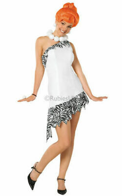 Official Licensed Deluxe WILMA FLINTSTONE Fancy Dress Costume  - Size - Flintstones Fancy Dress Kostüm