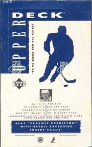 1994-95 UPPER DECK ... SERIES 2 ... hockey cards .. unopened box