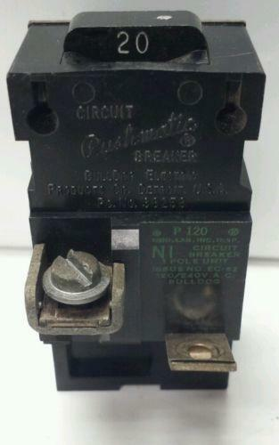 pushmatic circuit breaker box wiring pushmatic breakers 20 amp | ebay #12