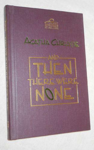 A book analysis of agatha christies and then there were non