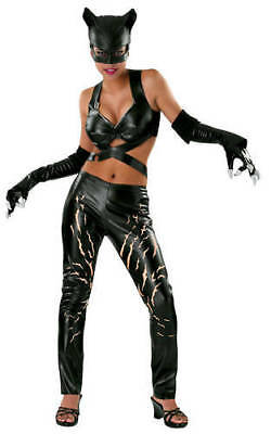 Rubie's 56019 CATWOMAN Costume Adult Halloween Fancy Dress up Size Large - Catwoman Dress Up Kostüm