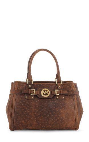 Michael Kors Handbag Ostrich Tote Ebay