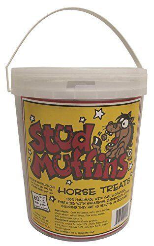 STUD MUFFINS 1060/1050 Stud Muffins Horse Treat 60 oz