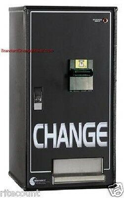 Mc-200 Bill To Coin Changer Holds 6400 Qtrs Perfect For Laundry Mats