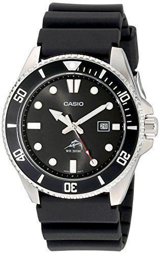 Casio Diver Wrist Watch Mdv-106-1Av Black Men Overseas Model F/S /c1