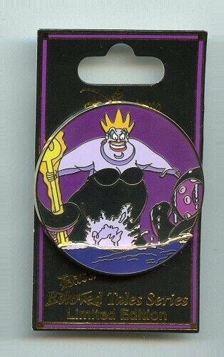 DSF Disney Dark Tales Villain Ursula The Little Mermaid Villains Event LE300 Pin