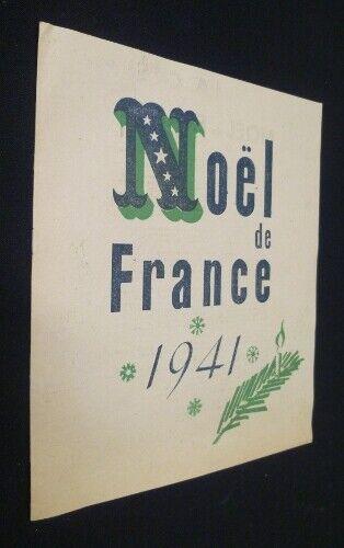 Christmas Xmas France 1941