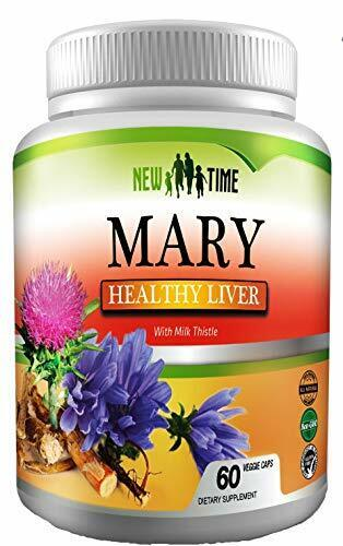 Liver Cleanse & Detox, Support Supplement with Milk Thistle,