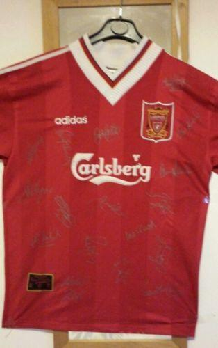 Liverpool Signed Shirt  901ea7cc1