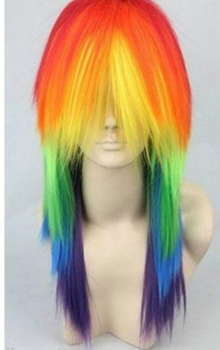Rainbow Wig Ebay