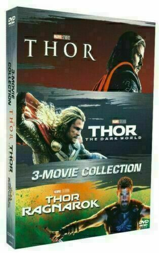 Thor 1-3 (DVD, 3 Movie Collection) Chris Hemsworth - New & Sealed FREE Shipping