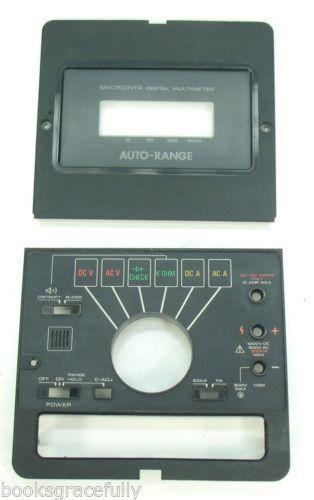 Radio Shack Multimeter : Micronta digital multimeter ebay