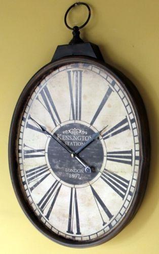 Pocket Watch Wall Clock Ebay