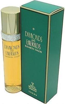 Diamonds And Emeralds By Elizabeth Taylor 3 3 Oz   3 4 Oz Edt New In Box