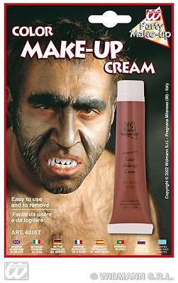 Makeup Tube Brown Face Paint Halloween Fancy Dress Werewolf - Werewolf Face Paint Halloween
