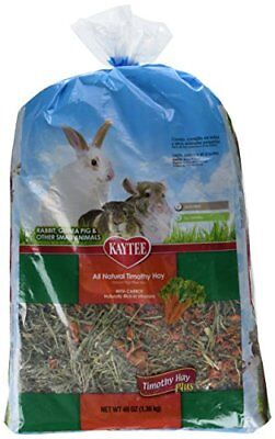 Kaytee Products 100509119 Timothy Hay Plus Carrot, 48 Oz