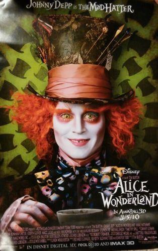 Alice in Wonderland Movie Poster | eBay