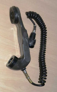 Military Army telephone handset H-33 to radiostations PRC, SEM, GRC SALE!! - <span itemprop='availableAtOrFrom'>Tarczyn, Polska</span> - Military Army telephone handset H-33 to radiostations PRC, SEM, GRC SALE!! - Tarczyn, Polska