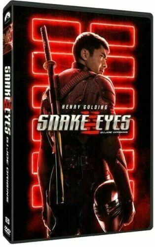 Snake Eyes: G.I. Joe Origins (DVD) 2021 NEW PRE-ORDER SHIPS ON 10/22/2021