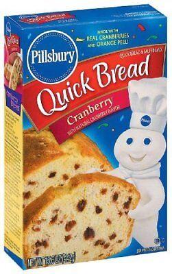 Kosher Bread Mix - Pillsbury Cranberry Quick Bread & Muffin Mix 15.6 oz